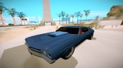 Chevrolet Chevelle for GTA San Andreas miniature 3