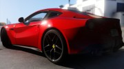 Ferrari F12 Berlinetta 2013 for GTA 5 miniature 6
