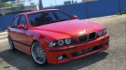 BMW M5 E39 1.1 for GTA 5 miniature 2