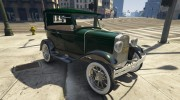 Ford T 1927 Tin Lizzie for GTA 5 miniature 11