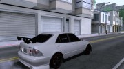 Toyota Altezza for GTA San Andreas miniature 2