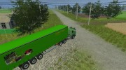 Mercedes-Benz NG 1632 и прицепы к нему for Farming Simulator 2013 miniature 7