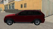 BMW X5 for GTA San Andreas miniature 3