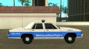 Ford LTD Crown Victoria 1991 Massachusetts Metro Police for GTA San Andreas miniature 6