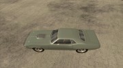 Plymouth Hemi Cuda for GTA San Andreas miniature 2