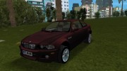 BMW M3 E46 for GTA Vice City miniature 1