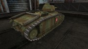 Шкурка для PzKpfw B2 740(f) for World Of Tanks miniature 4