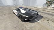 Lamborghini Reventón Hot Pursuit Police AUTOVISTA 6.0 для GTA 5 миниатюра 5