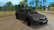 Toyota Camry 2016 for GTA Vice City miniature 4