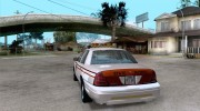 Ford Crown Victoria North Dakota Police для GTA San Andreas миниатюра 3