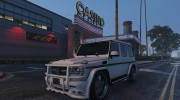 2013 Mercedes-Benz G65 AMG v1.2 for GTA 5 miniature 4