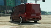 Ford Transit Low Rider BETA for GTA 5 miniature 2