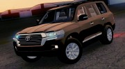Toyota Land Cruiser 200 2016 для GTA San Andreas миниатюра 1