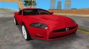 Jaguar XKR S для GTA Vice City миниатюра 1