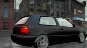 Volkswagen Golf VR6 1998 DTD TUNED for GTA 4 miniature 2