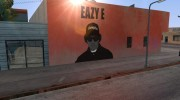Eazy-E graffiti for GTA San Andreas miniature 2