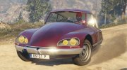 Citroen DS21 for GTA 5 miniature 1