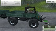 Unimog U 84 406 Series и Trailer v 1.1 Forest for Farming Simulator 2013 miniature 7