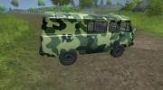 УАЗ 3909 военный для Farming Simulator 2013 миниатюра 6