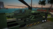 DAF XF 530 2002 Army for GTA Vice City miniature 6