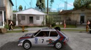 Lancia Delta S4 Martini Racing for GTA San Andreas miniature 2