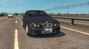 BMW 5-Series E39 for Euro Truck Simulator 2 miniature 3