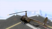 Robinson R44 Raven II NC 1.0 Скин 4 for GTA San Andreas miniature 3
