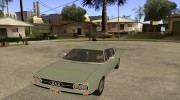Audi 100 Coupe S 1974 for GTA San Andreas miniature 1