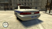 1995 Ford Crown Victoria (Moscow Police) for GTA 4 miniature 2