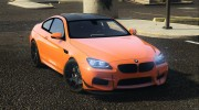 2013 BMW M6 Coupe for GTA 5 miniature 5