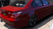 BMW M5 E60 v1.1 for GTA 5 miniature 3