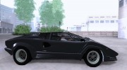 Lamborghini Countach 25th for GTA San Andreas miniature 4