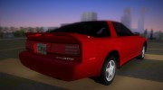 Toyota Supra MK III 1989 for GTA Vice City miniature 3