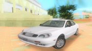 Daewoo Leganza CDX US 2001 for GTA Vice City miniature 1