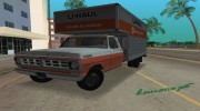 1971 Ford F-350 U-Haul для GTA Vice City миниатюра 1