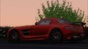 Mercedes-Benz SLS AMG Black Series 2013 для GTA San Andreas миниатюра 28