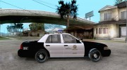 Ford Crown Victoria San Andreas State Patrol для GTA San Andreas миниатюра 5