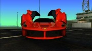 Ferrari LaFerrari F70 for GTA Vice City miniature 2