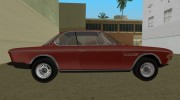 BMW 3.0 CSL 1971 for GTA Vice City miniature 4