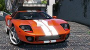 2005 Ford GT for GTA 5 miniature 5