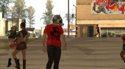 Raccoon Mask from GTA Online для GTA San Andreas миниатюра 5