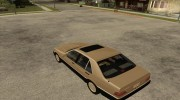 Mercedes Benz 400 SE W140 (Wheels style 3) for GTA San Andreas miniature 3