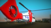 Eurocopter AS-365N Dauphin 2 for GTA Vice City miniature 3