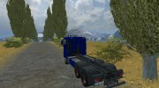 MAN TGX HKL with container v 5.0 Rost for Farming Simulator 2013 miniature 3