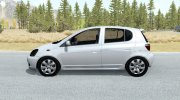 Toyota Vitz RS 5-door (P10) 2000 for BeamNG.Drive miniature 2