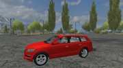 Audi Q7 Civil для Farming Simulator 2013 миниатюра 2