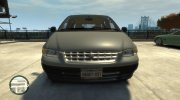 1996 Plymouth Grand Voyager for GTA 4 miniature 3