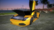 Lamborghini Murcielago LP640 Roadster for GTA Vice City miniature 5
