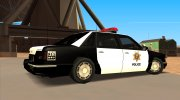 1992 CHEVROLET POLICE LVPD SA STYLE for GTA San Andreas miniature 2