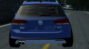 Volkswagen MK7 Golf Alltrack for Street Legal Racing Redline miniature 4